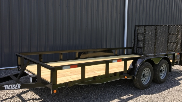 Model L 16' 7000 GVWR Tandem Axle Landscape Trailer